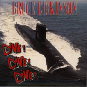 Bruce Dickinson - Dive Dive Dive cover art