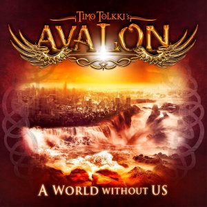 Timo Tolkki's Avalon - A World Without Us cover art