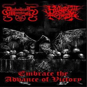 Diabolical Messiah - Embrace the Advance of Victory cover art