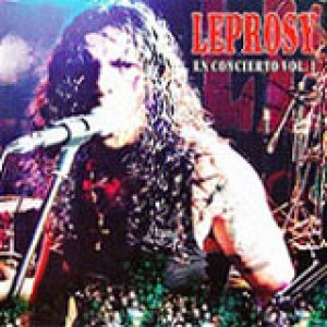 Leprosy - En Concierto Vol I cover art