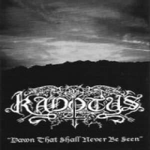 Kadotus - Dawn that shall never be seen cover art