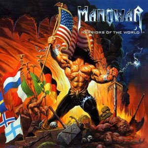 Manowar - Warriors of the World cover art