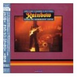 Rainbow - Live in Germay 1976 cover art