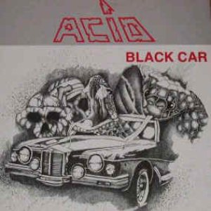 Acid - Black Car cover art