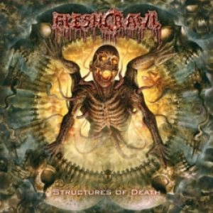 Fleshcrawl - Structures of Death cover art
