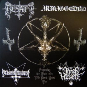 Armaggedon - Conquering the World With True Black Metal War cover art