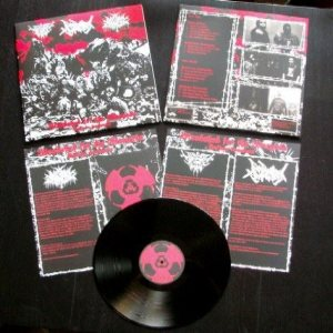Seges Findere / Purification Kommando / Nocturnal Damnation - Bloodshed for the Wargods cover art