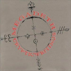 Megadeth - Cryptic Writings cover art