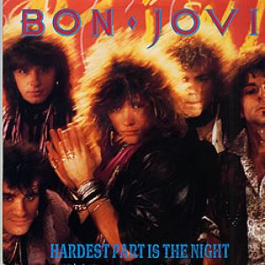 Bon Jovi - The Hardest Part Is the Night cover art