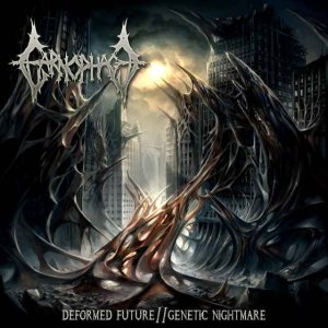 Carnophage - Deformed Future // Genetic Nightmare cover art