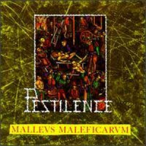 Pestilence - Malleus Maleficarum cover art