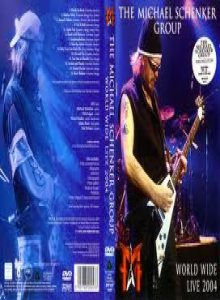 Michael Schenker Group - World Wide Live 2004 cover art