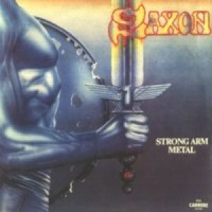 Saxon - Strong Arm Metal cover art