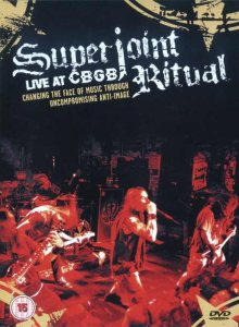 Superjoint Ritual - Live at CBGB cover art
