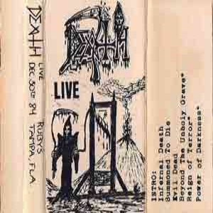 Death - Infernal Live (Live tape #5) cover art