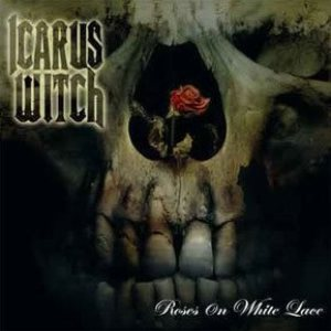 Icarus Witch - Roses on White Lace cover art