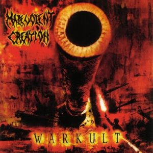 Malevolent Creation - Warkult cover art