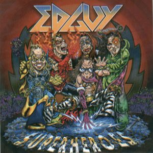 Edguy - Superheroes cover art