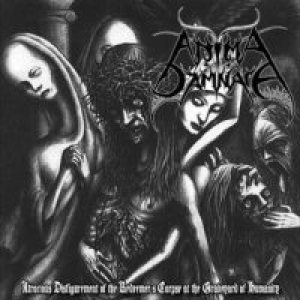 Anima Damnata - Atrocious Disfigurement of the Redeemer's Corpse at the Graveyard cover art