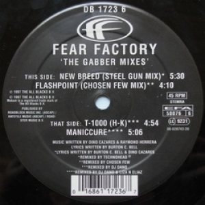 Fear Factory - The Gabber Mixes cover art