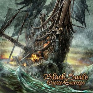 Týr / Alestorm / Heidevolk - Black Sails Over Europe cover art
