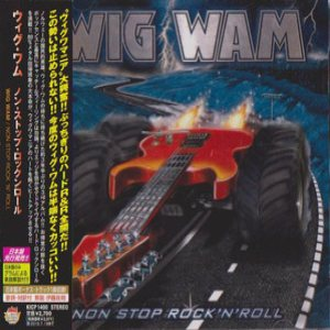 Wig Wam - Non Stop Rock and Roll cover art