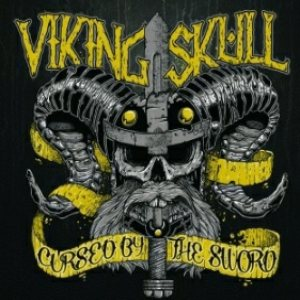 Viking Skull - Cursed By the Sword