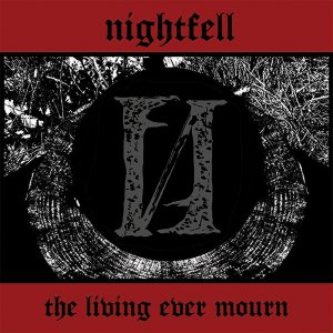 Nightfell - The Living Ever Mourn cover art