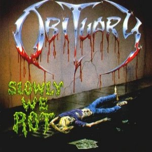Obituary - Slowly We Rot cover art
