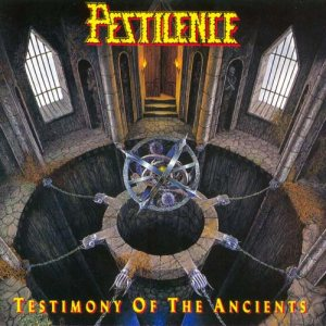 Pestilence - Testimony of the Ancients cover art