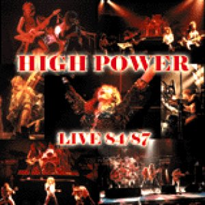 High Power - Live 84/87 cover art