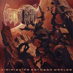 Decrepit Birth - Diminishing Between Worlds cover art
