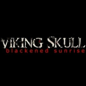 Viking Skull - Blackened Sunrise cover art