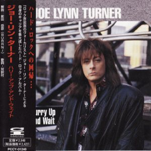 Joe Lynn Turner - Hurry Up and Wait cover art