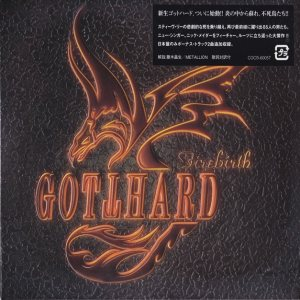 Gotthard - Firebirth cover art