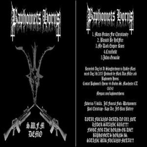 Baphomets Horns - Satanic War Fucking Metal cover art