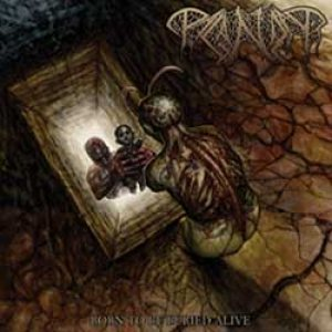 Paganizer - Born to be Buried Alive cover art