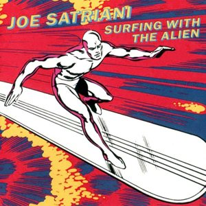 Joe Satriani - Surfing With the Alien cover art