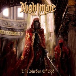 Nightmare - The Burden of God cover art
