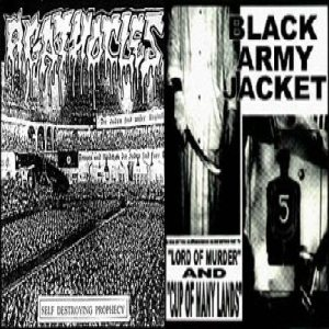 Agathocles - Self Destroying Prophecy/Split With Black Army Jacket cover art