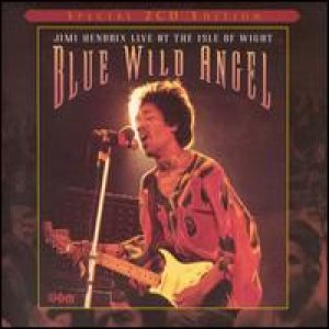 Jimi Hendrix - Blue Wild Angel: Live At the Isle of Wight cover art