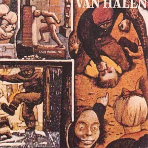 Van Halen - Fair Warning cover art