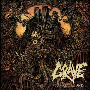 Grave - Burial Ground cover art