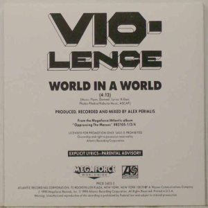 Vio-lence - World in a World cover art