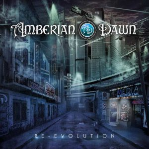 Amberian Dawn - Re-Evolution cover art