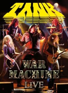 Tank - War Machine Live cover art