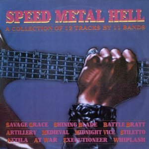 Various Artists - Speed Metal Hell cover art