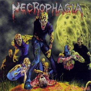 Necrophagia - Season of the Dead cover art