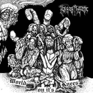 Terror Throne - World on it's Knees cover art