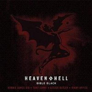 Heaven and Hell - Bible Black cover art